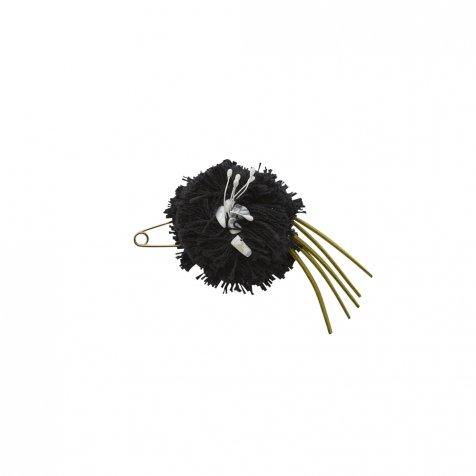 【ご予約受付・お届けは1月〜2月】Flower corsage black