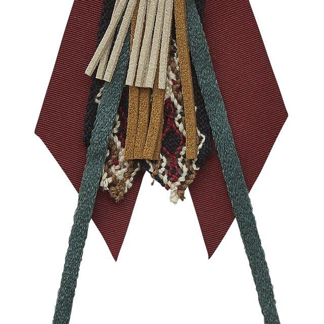 【ご予約受付・お届けは1月〜2月】Cicada brooch burgundy img2