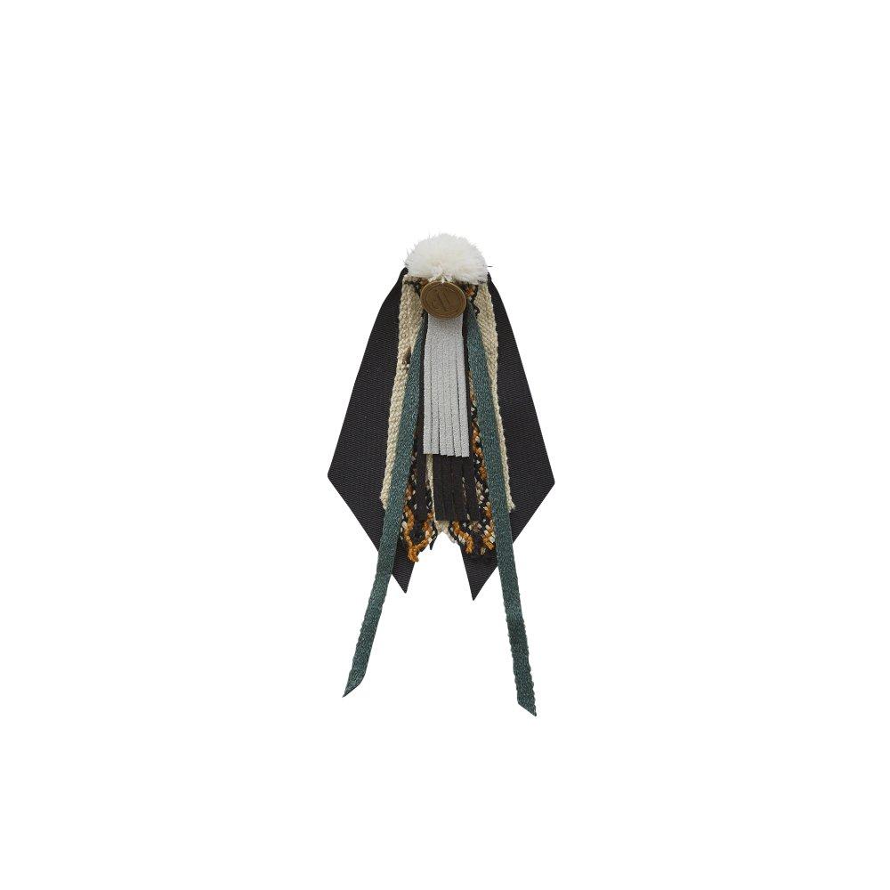 【ご予約受付・お届けは1月〜2月】Cicada brooch black img