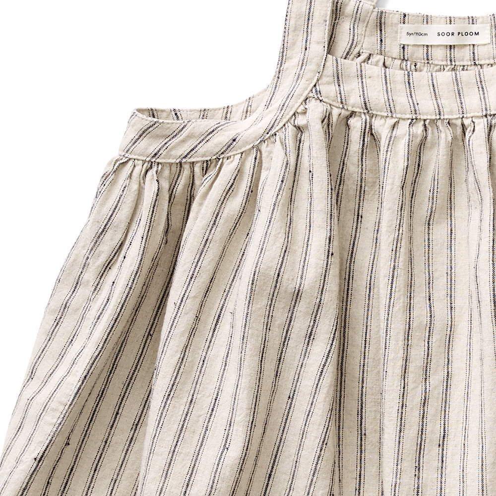 Eloise Pinafore - Ticking Stripe img2