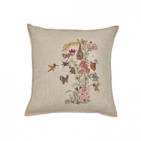 Hummingbird Vine Pillow (Cover Only)