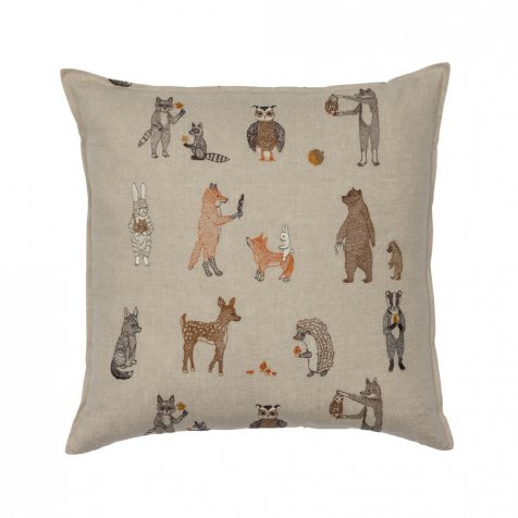 Woodland Friends Pillow(Cover Only)
