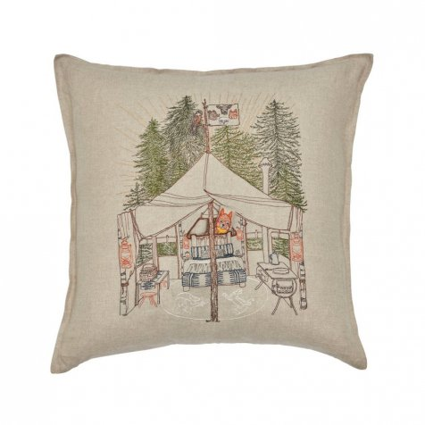Camper Fox Pocket Pillow(Cover Only)