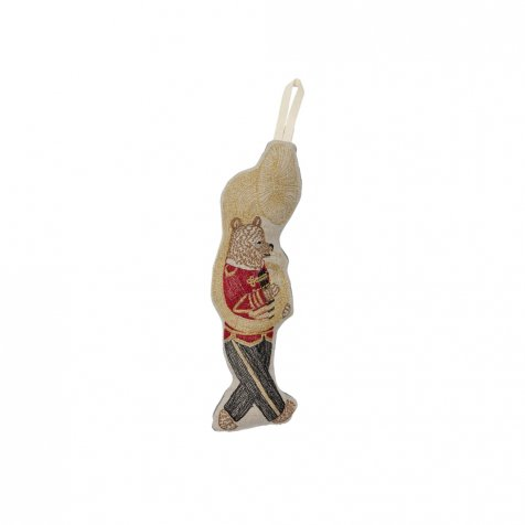 Marching Band Bear Ornament