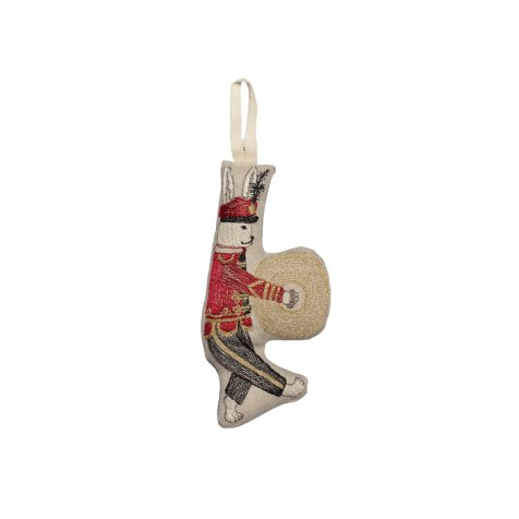 Marching Band Bunny Ornament