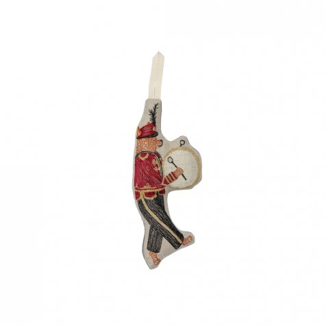 Marching Band Fox Ornament