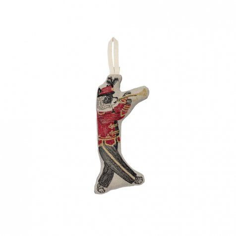Marching Band Raccoon Ornament