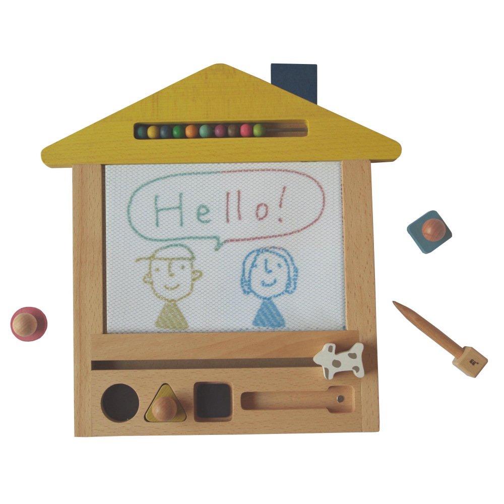oekaki house ●▲■お家の形をしたお絵描きボード img