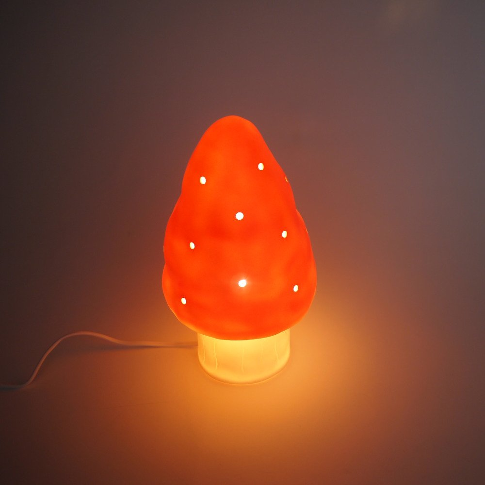 Small Mushroom Lamp Red img2