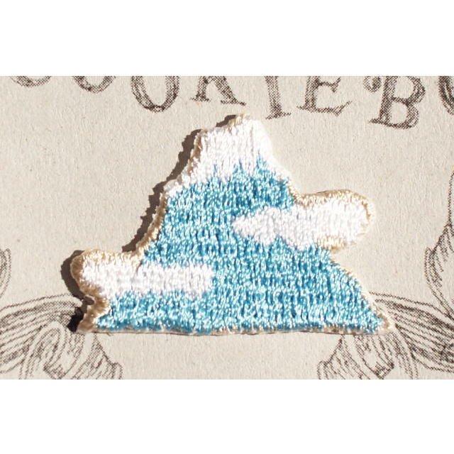 【MORE SALE 40%OFF】アイロンアップリケ Mt.Fuji 2枚組 img1