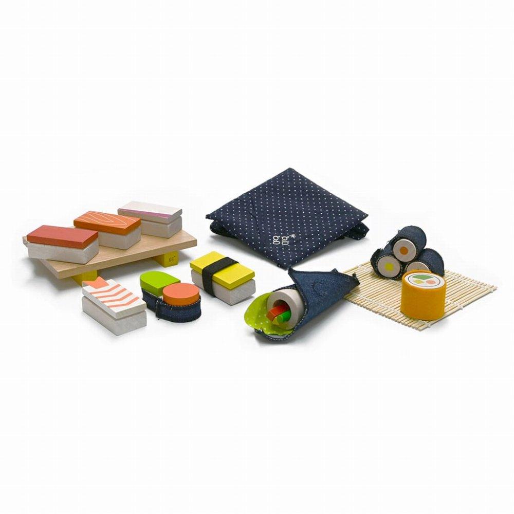 【NEW!】sushi お寿司屋さんのおままごとセット img