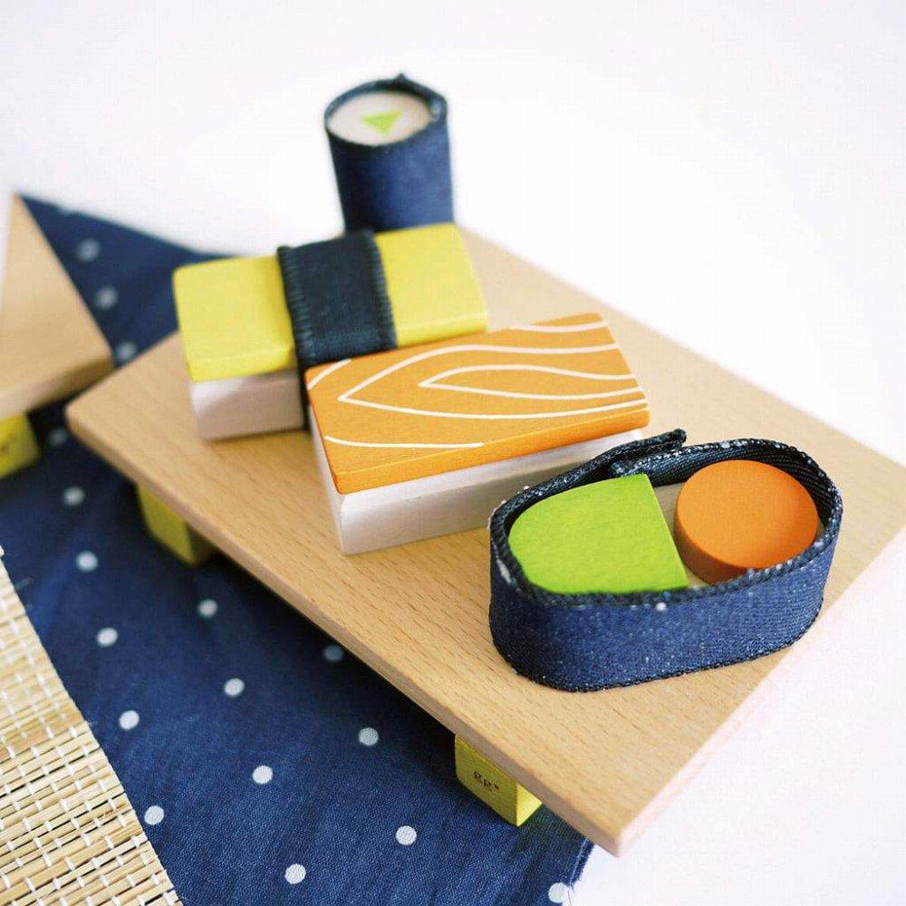 【NEW!】sushi お寿司屋さんのおままごとセット img4