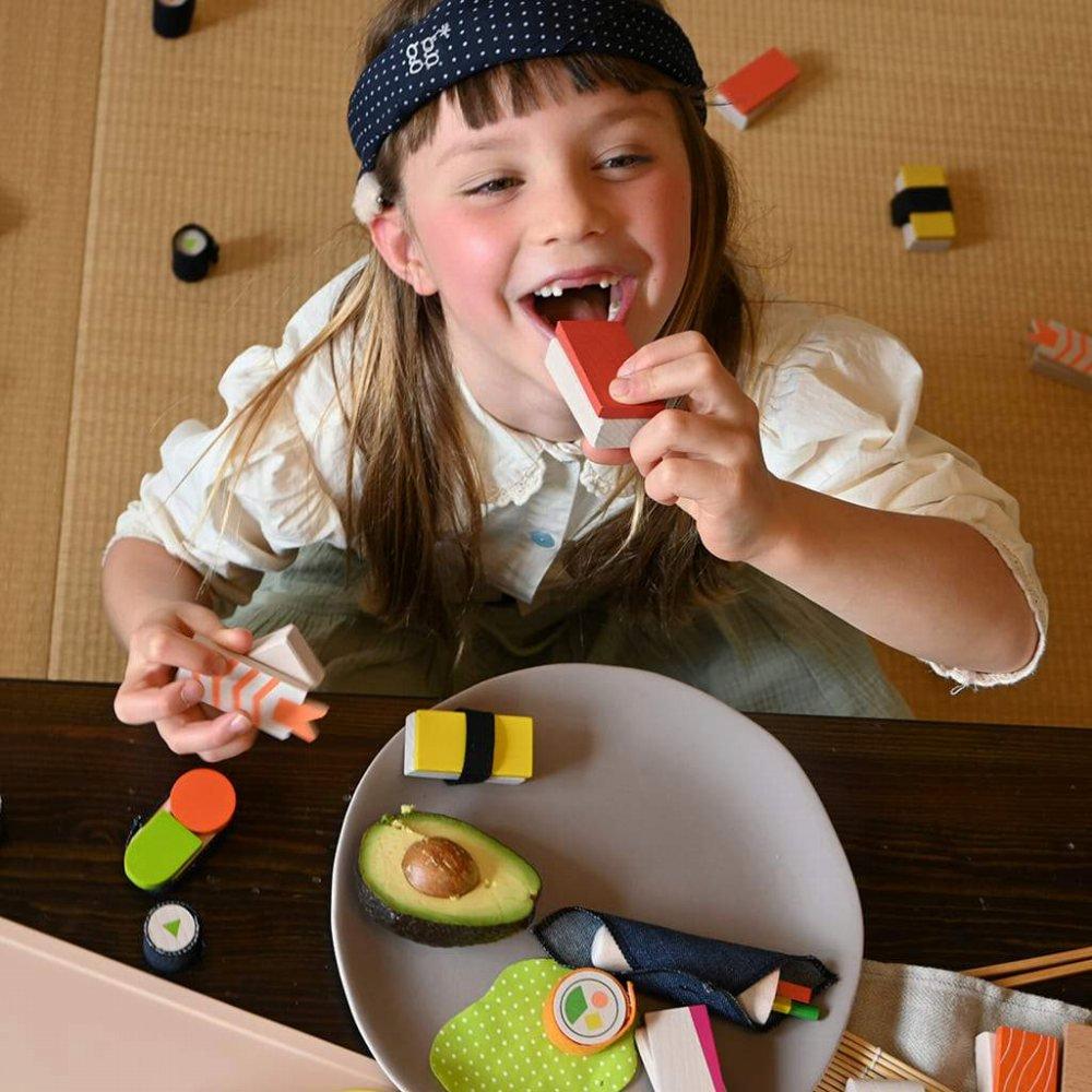 【NEW!】sushi お寿司屋さんのおままごとセット img7