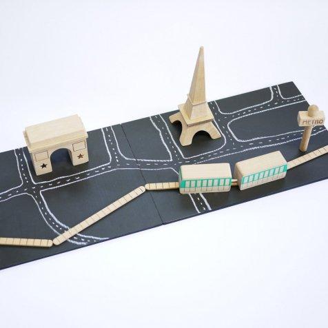 machi Paris 自分だけのまちづくりができるおもちゃ パリ版