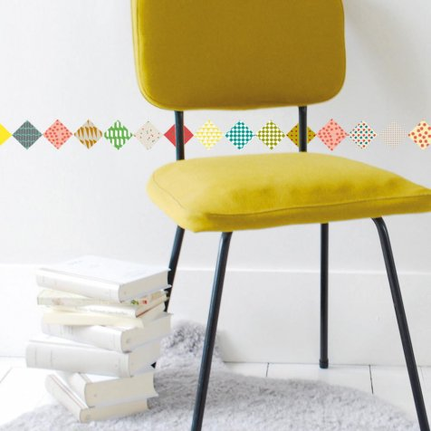 【SALE 80%OFF】Losanges Wall Sticker