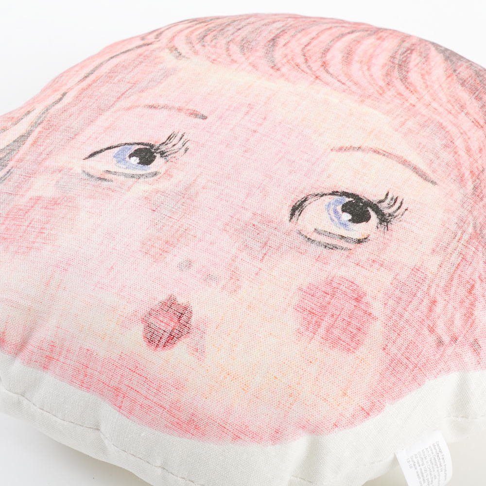 Face Pillow Doll Face img1