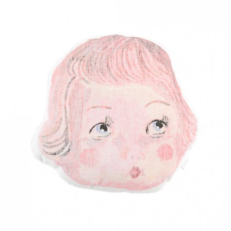 Face Pillow Doll Face