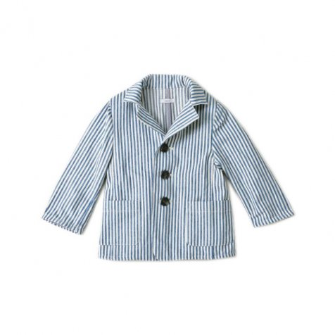 【MORE SALE 70%OFF】JACKET JUDE BLUE STRIPE