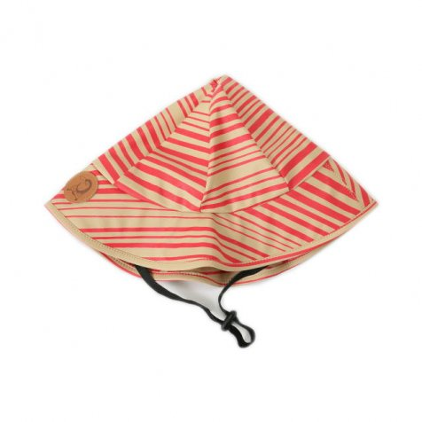 【SALE 60%OFF】2014AW STRIPE AOP RAIN CAP レインハット RED 48/50・52/54