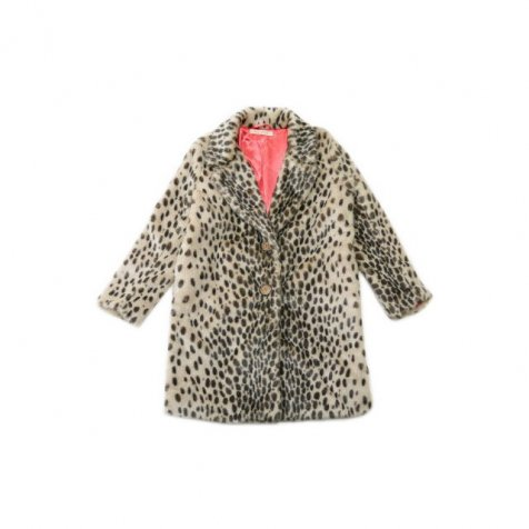【再値下げ!】2014AW No.144 ボボ Coat Leopard false fur