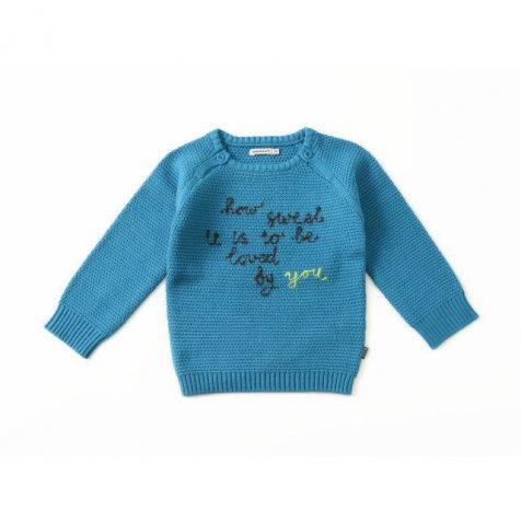 【MORE SALE 80%OFF】Pullover Long Sleeve Ocean Blue