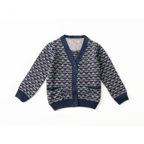 【再値下げ!】Cardigan Long Sleeve Pearl Blue