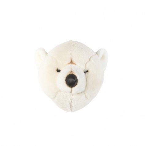 Animal Head Polar Bear 剥製風のぬいぐるみ・白くま