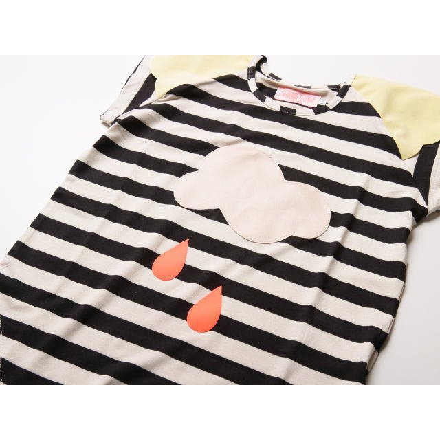 【SALE 60%OFF】Lucky Rain Black&White striped img1