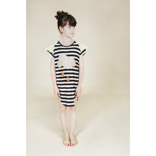 【SALE 60%OFF】Lucky Rain Black&White striped img3
