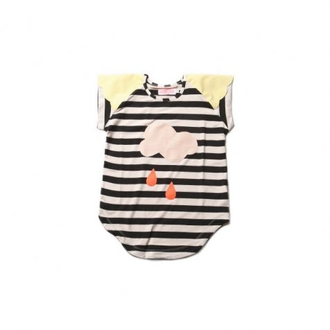 【再値下げ!】ワンピース Lucky Rain Black&White striped