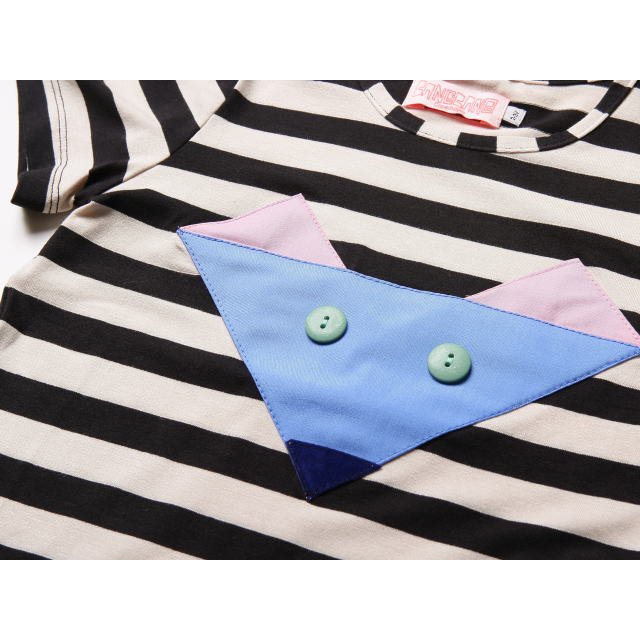【SALE 60%OFF】 Sly Black&White striped img1