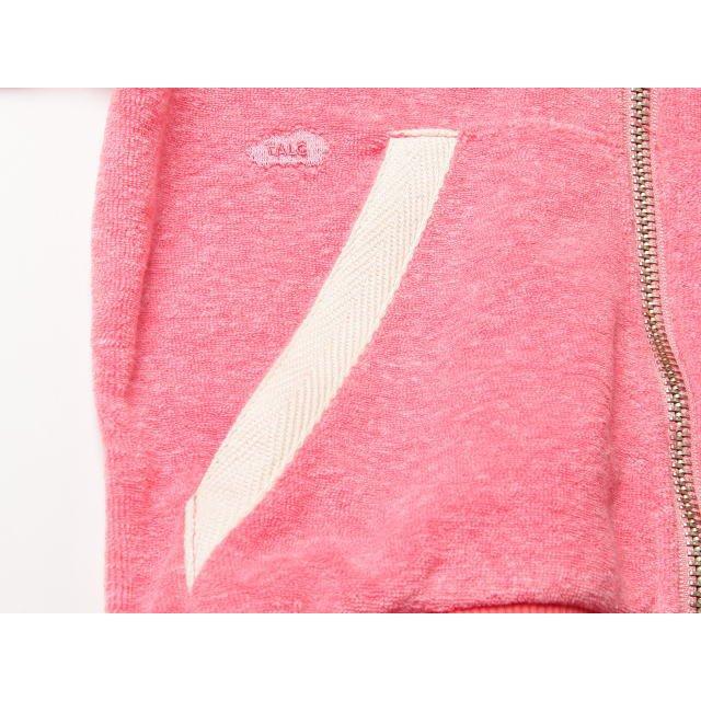 【MORE SALE 80%OFF】Sweat zip ears Tokyo 1 耳付きスウェットパーカー Towel red img1