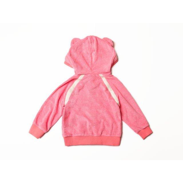 【MORE SALE 80%OFF】Sweat zip ears Tokyo 1 耳付きスウェットパーカー Towel red img2