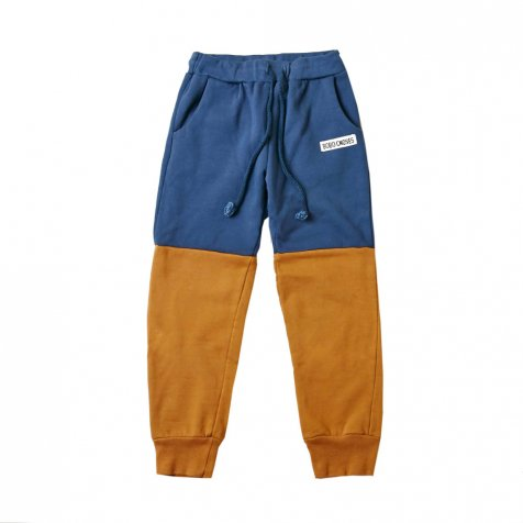 【ウィンターセール30%OFF】2015AW No.083 Fleece Trousers Bicolor Blue