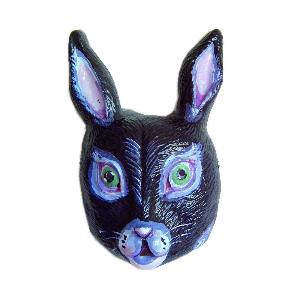 ナタリーレテ うさぎのお面 Rabbit Mask Noir 黒 img