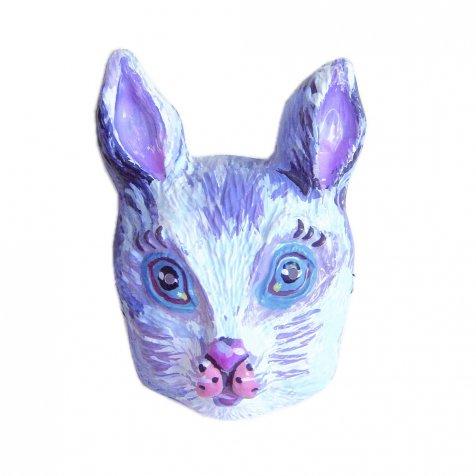 ナタリーレテ うさぎのお面 Rabbit Mask Blanc 白