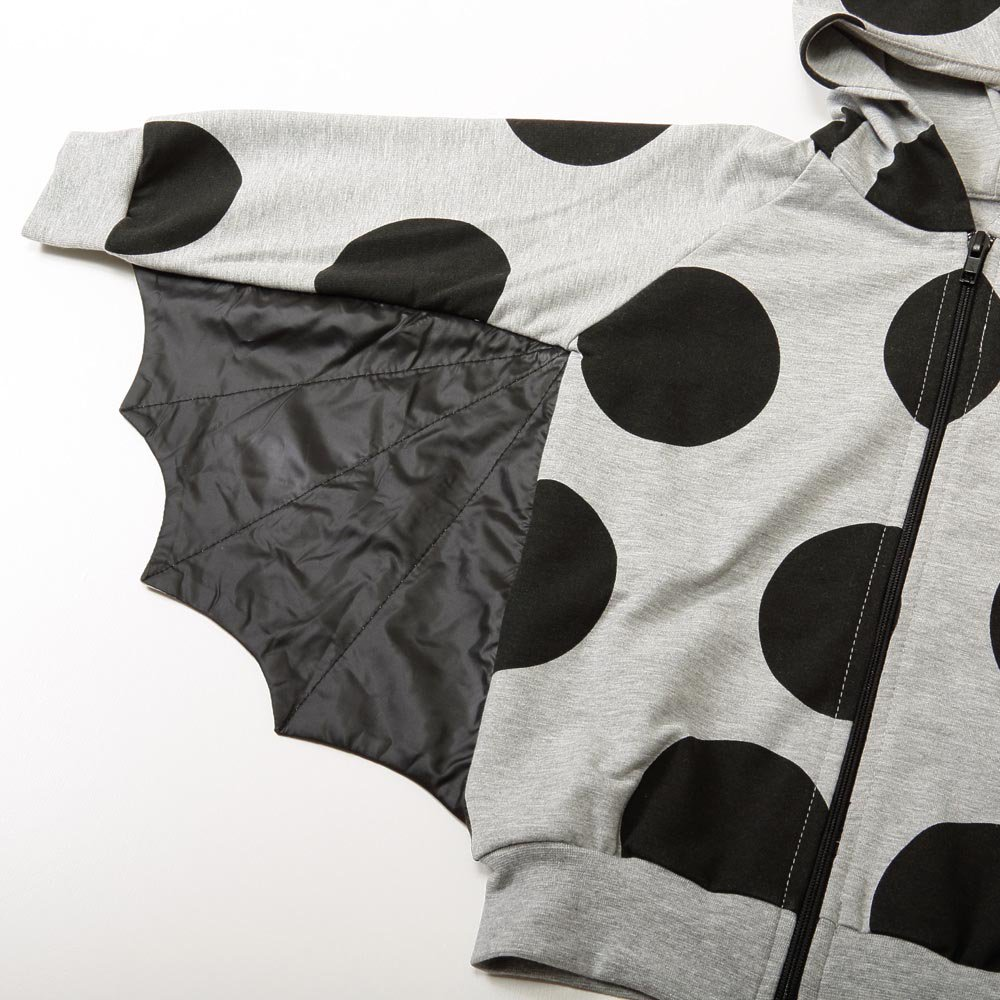 【MORE SALE 70%OFF】Superfly Sweatshirt Grey W.Dots img1