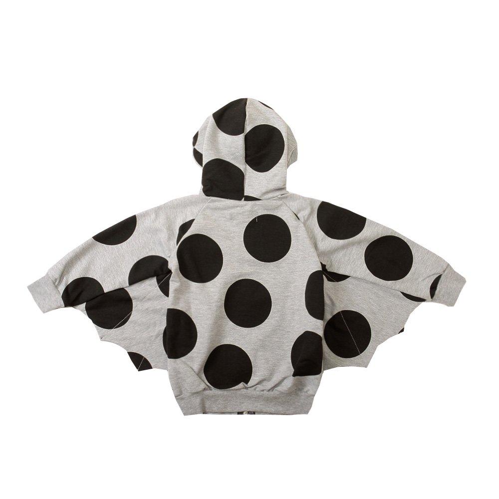 【MORE SALE 70%OFF】Superfly Sweatshirt Grey W.Dots img2