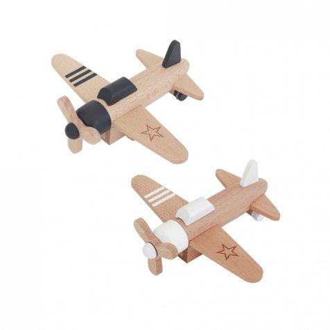 hikoki propeller プルバックモーター内蔵 木のプロペラ飛行機