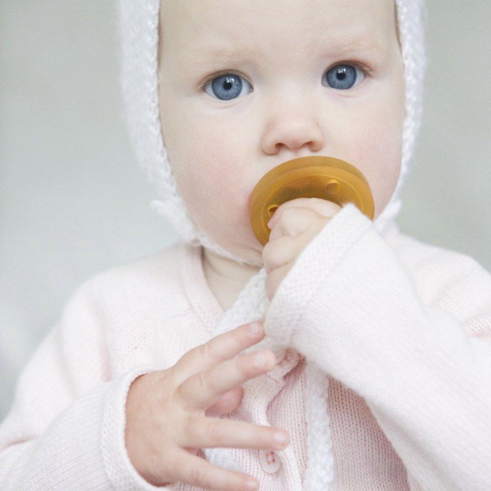 天然ゴムのおしゃぶり Pacifiers for babies ラウンド型 img5