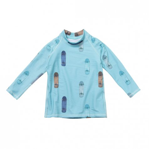 【サマーセール30%OFF】Baby Astin Swim Shirt AOP Skate