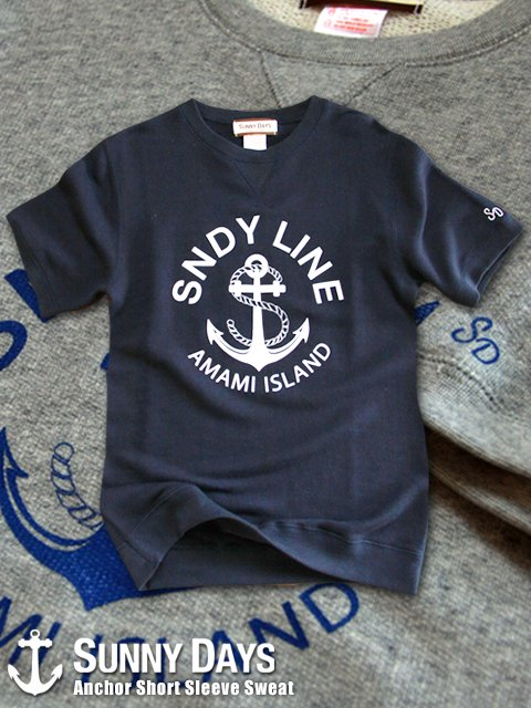 Anchor FrenchTerry Short Sleeve Sweat (Men's) 2カラー