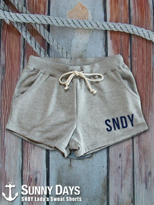 SNDY Sweat Shorts (Lady's) 3カラー<img class='new_mark_img2' src='//img.shop-pro.jp/img/new/icons57.gif' style='border:none;display:inline;margin:0px;padding:0px;width:auto;' />