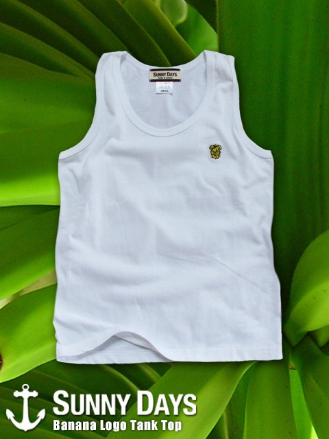 Banana Logo Tank Top (Boy's & Lady's) 3カラー<img class='new_mark_img2' src='//img.shop-pro.jp/img/new/icons16.gif' style='border:none;display:inline;margin:0px;padding:0px;width:auto;' />
