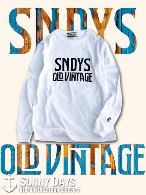 OLD-VINTAGE Long Sleeve (Lady's) 3カラー