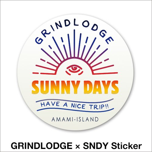 GRINDLODGE × SNDY Sticker