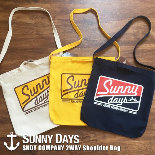 SNDY COMPANY 2WAY Shoulder Bag 3カラー