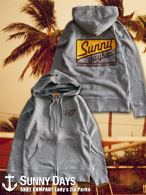 SNDY COMPANY Zip Parka (Lady's) 2カラー<img class='new_mark_img2' src='//img.shop-pro.jp/img/new/icons57.gif' style='border:none;display:inline;margin:0px;padding:0px;width:auto;' />