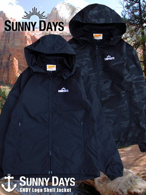 SNDY Logo Shell Jacket (Men's) 2カラー<img class='new_mark_img2' src='//img.shop-pro.jp/img/new/icons16.gif' style='border:none;display:inline;margin:0px;padding:0px;width:auto;' />