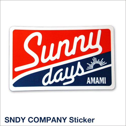 SNDY COMPANY Sticker<img class='new_mark_img2' src='https://img.shop-pro.jp/img/new/icons57.gif' style='border:none;display:inline;margin:0px;padding:0px;width:auto;' />